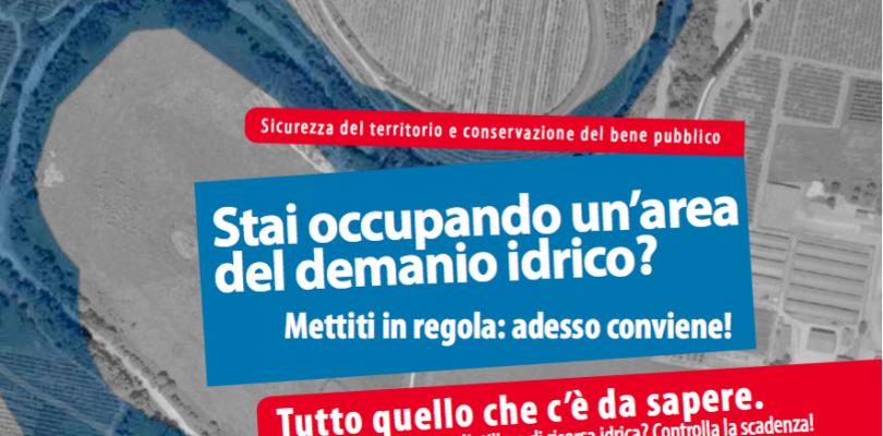 Concessioni per l'occupazione del demanio idrico: c'è tempo fino al 31 dicembre per mettersi in regola